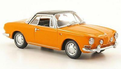 Vw Karmann Ghia 1600 Nepal Orange 1:43 Scale Diecast Model Car - Genuine Vw