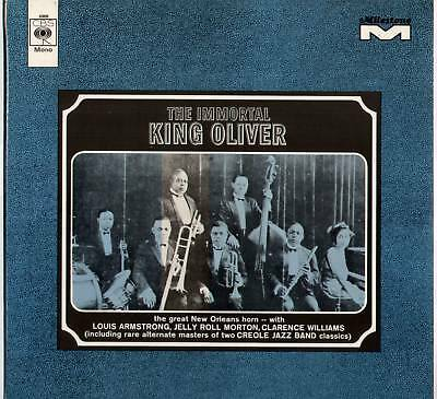 [Louis Armstrong] King Oliver ~ Immortal ~ 1968 Uk 13-Track Mono Lp Record