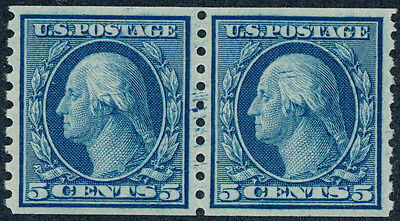 drbobstamps US Scott #458 Mint NH PAIR Stamps Cat $150