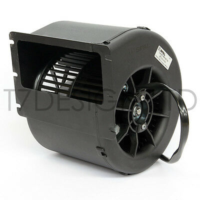007-A42-32D - SPAL Centrifugal Blower Fan - 454cfm - 12v - 1 Speed, Heater, AC
