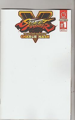 Udon Comics Street Fighter V Charlie Nash #1 Cover B March 2016 1St Print Nm