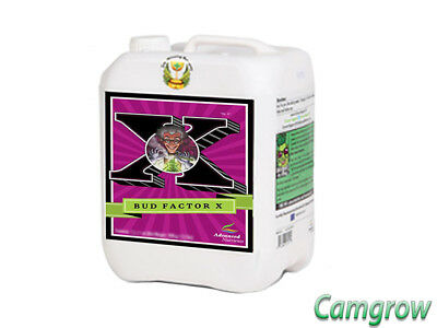 Advanced Nutrients Bud Factor X Maximises Resin Production 5 Litre Hydroponics