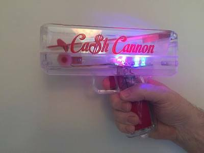 LED CASH CANNON + Novelty Dollars. Nightclub/Casino/Party/Promotion/DJ/Hen/Stag