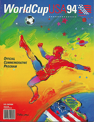 1994 World Cup official tournament programme: USA 94: from final in Los Angeles