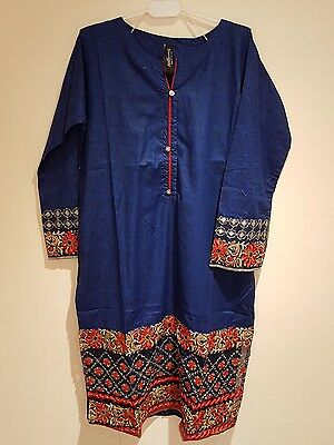 Ladies women girls Pakistani Indian Large size Kurti TopTunic cotton summer wear
