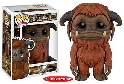 Funko POP Movies: Labyrinth - Ludo Action Figure 6 in Original Box