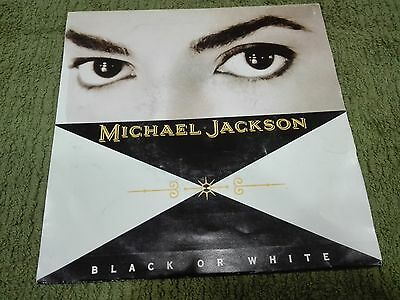 "Michael Jackson-Black Or White- Promotional Radio Spanish 7"" Very Rare"