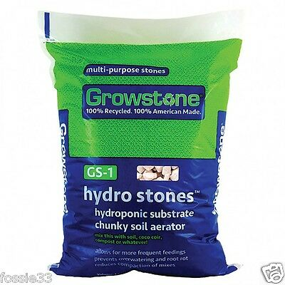 Growstones Hydroponic Substrate Medium 42 Litre Bag
