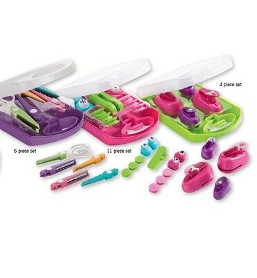 Crelando 11 Piece Set,can Aft Paper Punch And Stamp set