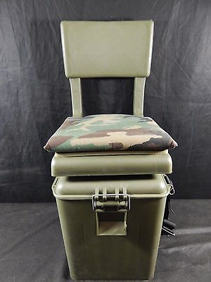 Wise Outdoors Super Sport Hunting Seat with Insulated Cooler, Brown/Break-Up