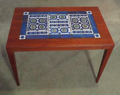 Danish Modern Severin Hansen Rosewood Tenera Tile Top Table Mid Century Denmark