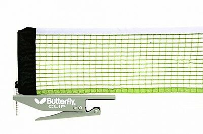 Butterfly Table Tennis Clip Net and Post Set