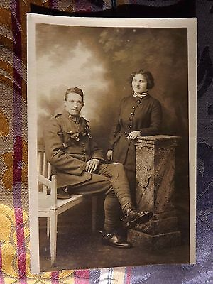 WWI Postcard SERVICE FAMILY GROUP East Anglia Home Front