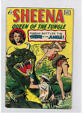SHEENA QUEEN OF THE JUNGLE COMIC No. 9 - IW reprint