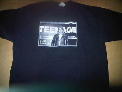 Kurt Cobain 2XL XL Teenage 2002 Shirt Rare