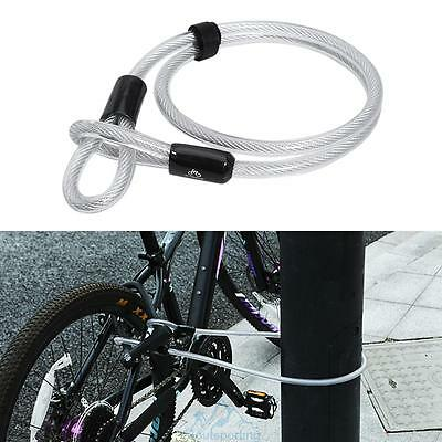 1.2m/3.94ft Thickened Extended Steel Cable Chain Lock Security For Bike Bicycle