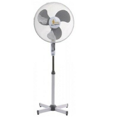 16 inch 3 Speed Standing Electric Rotating Summer Pedestal Fan
