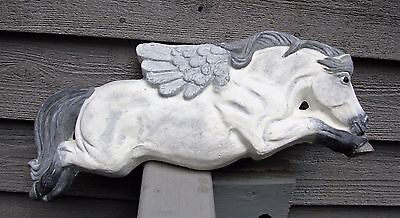 Winged Flying Horse Cast Iron Memorial Plaque THE STONE BUNNY Telle M.Stein '06