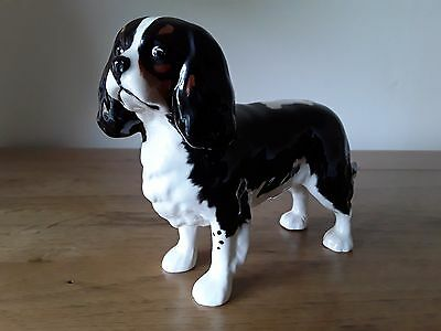 "Large Beswick Gloss Dog King Charles Spaniel ""josephine Of Blagreaves"" 2107B"