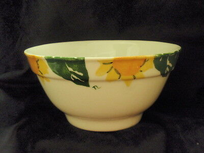 "HARTSTONE POTTERY Mixing/Serving Bowl ""Sunflower"" Pattern"