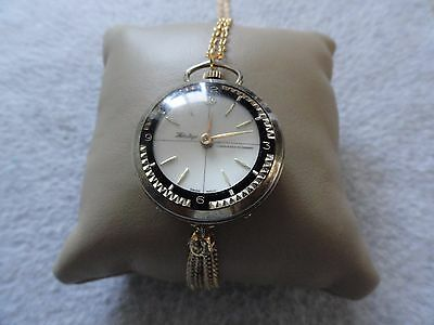 Vintage Wind Up Swiss Made Heritage Necklace Pendant Watch - Problem