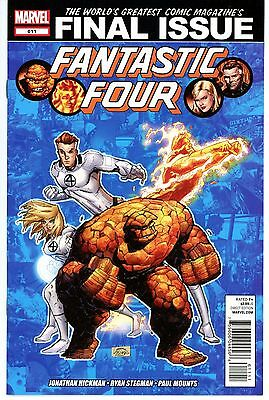 Fantastic Four #611 * First Print *   Final Issue   Nm
