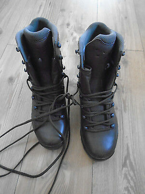 Haix Goretex Cold Wet Weather Combat Boots Size Uk 7M British Army Issue