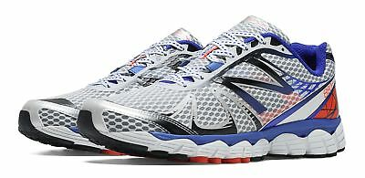 New Balance Mens Running 880v4 Shoes White with Blue