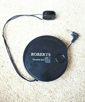 Roberts Aer-1 Compact Portable Antenna Aerial For Short Wave Radio