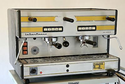 La San Marco 85-16M 2 Group Automatic Commercial Espresso Cappuccino Machine