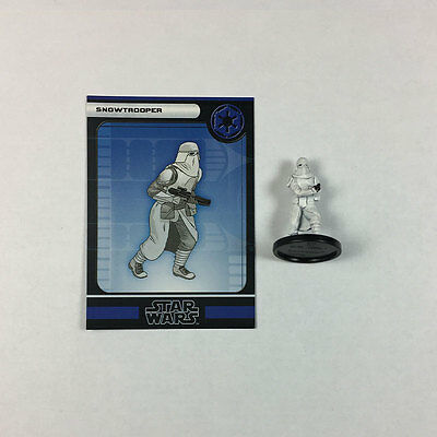 Star Wars Miniatures Force Unleashed #39 Snowtrooper (w/card)