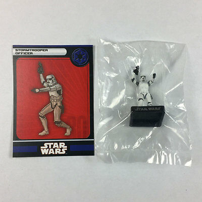 Star Wars Miniatures Alliance and Empire #35 Stormtrooper Officer (w/card)