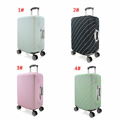 Stripes Elastic Dustproof Protector Cover For 18''-20''Travel Luggage Suitcase S