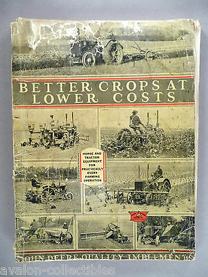 John Deere Farm Equipment CATALOG - c. 1932-1933 ~~ farming, tractor