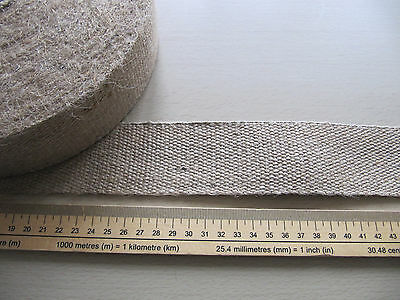 Hessian Webbing 50mm 2in wide 10lb weight 32 metre roll Upholstery rug binding