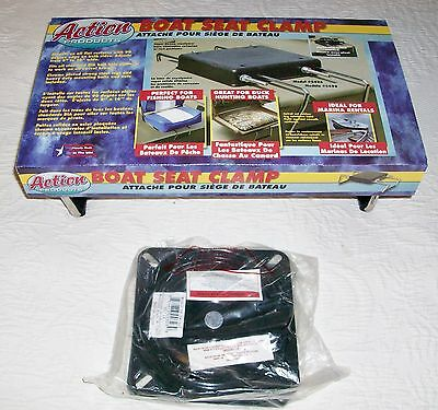Action Products adjustable boat seat clamp with swivel, new in package