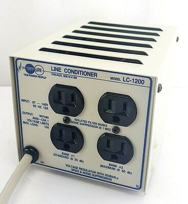 Tripp Lite LC-1200 4-Outlet Voltage Regulator Line Stabilizer/Conditioner