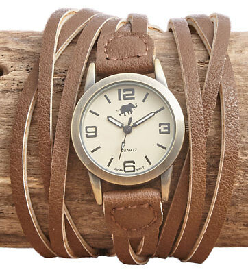 The Lakeside Collection Multi-Strand Easy Snap Watches -