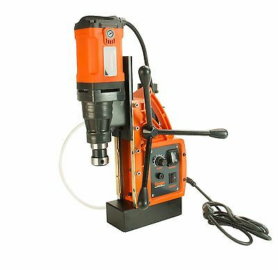 """Cayken SCY-42HD Magnetic Drill Press with 7PC Small Diameter 1"""" Annular Cutters"""