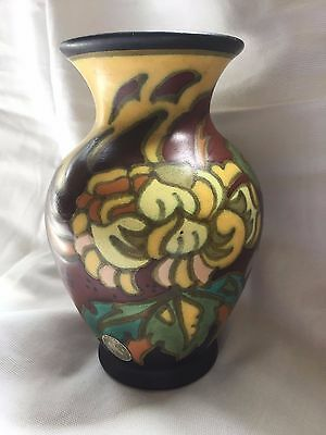 Gouda Holland vase 1930 7 inches tall