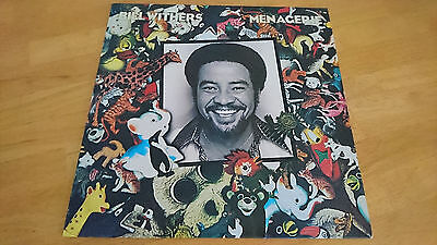 Bill Withers - Menagerie (Lovely Day) 1977 UK early press (A3/B1) LP + review