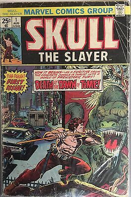 Skull The Slayer # 1 Marvel Comics Group 1975 VG #