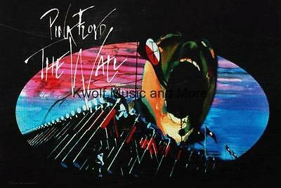 """PINK FLOYD Rock flag/ Tapestry/ Fabric Poster  """"Hammers """" 30""""x43""""  NEW"""