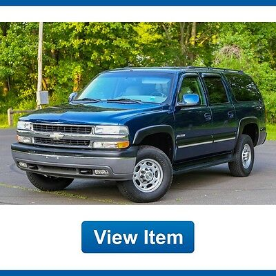 2001 Chevrolet Suburban K2500 2001 Chevrolet Suburban K2500 Barn Doors 8.1L 1 Owner Serviced 4WD CARFAX Tow!