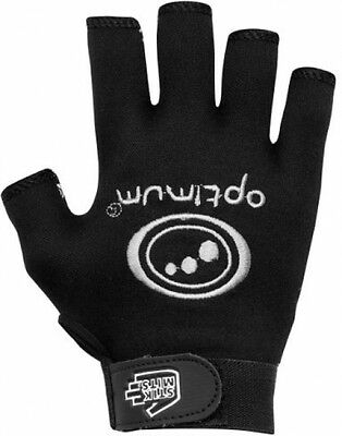 Optimum Stik Mits Mens Rugby Grip Gloves - Black, Large [ Hand Circumference :