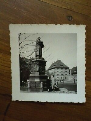 Martin Luther Statue Phtograph, Eisenbach Germany