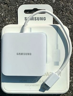 New Samsung  Galaxy TabPro S Multiport Adapter Model: EE-PW700BWEGUJ
