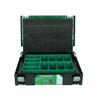New Hitachi 402538 Type 1 Stackable System Case Organiser Sortimo