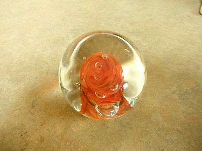 One of a Kind Glass Paperweight