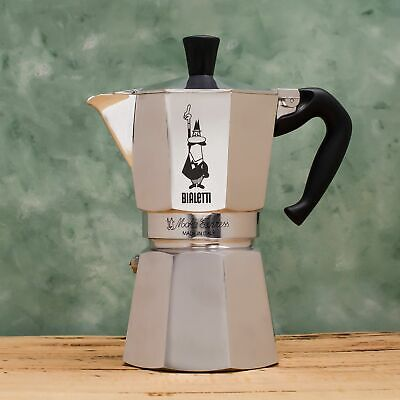 Bialetti Moka Express Coffee Percolator, Aluminium Stovetop Coffee Maker